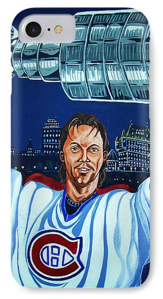 Stanley Cup - Champion IPhone Case by Juergen Weiss