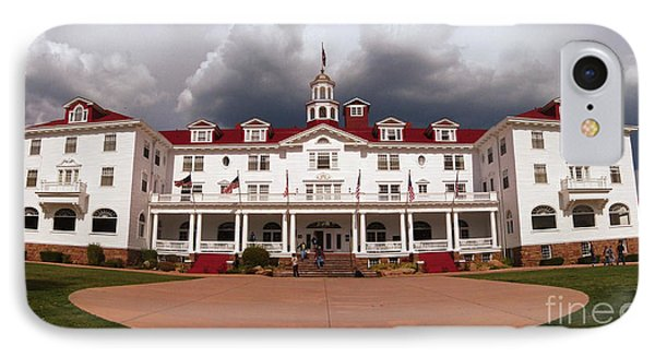IPhone Case featuring the photograph Stanley Hotel - Estes Park Colorado by Donna Greene
