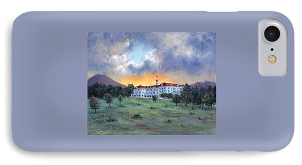 Stanley Hotel Sunset IPhone Case