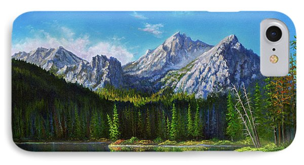 Stanley Lake Reflections IPhone Case by C Steele