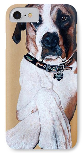 IPhone Case featuring the painting Stanley by Tom Roderick
