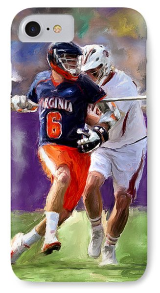 Stanwick Lacrosse IPhone Case by Scott Melby