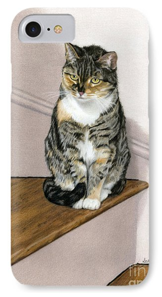 Stanzie Cat IPhone Case by Sarah Batalka