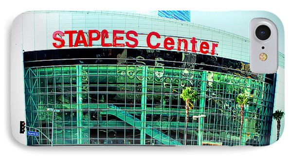 Staples Center Color Phone Case by Ariane Moshayedi