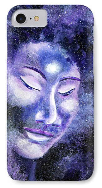 Star Buddha Of Equanimity IPhone Case by Laura Iverson