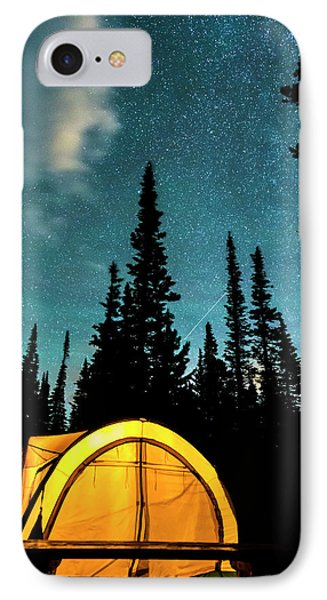 IPhone 7 Case featuring the photograph Star Camping by James BO Insogna