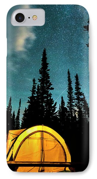 IPhone Case featuring the photograph Star Camping by James BO Insogna