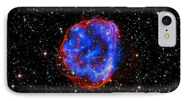 Star Explosion In The Large Magellanic Cloud IPhone Case by Mountain Dreams