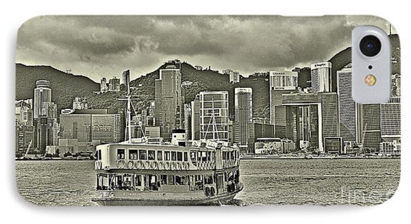 Star Ferry In Hong Kong IPhone Case by Joe  Ng