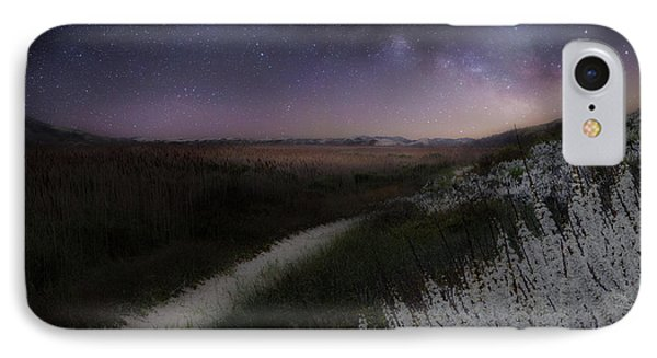 IPhone 7 Case featuring the photograph Star Flowers by Bill Wakeley