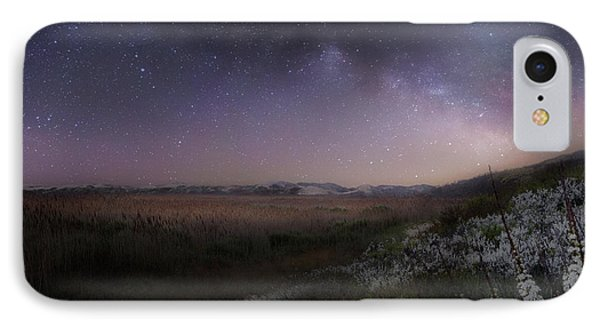 IPhone 7 Case featuring the photograph Star Flowers Square by Bill Wakeley
