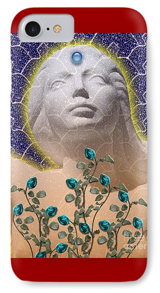 Star Goddess Phone Case by Keith Dillon