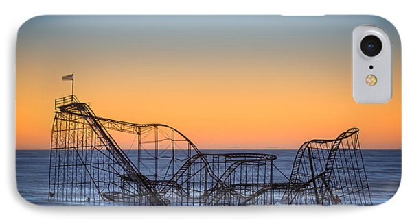 Star Jet Roller Coaster Ride  Phone Case by Michael Ver Sprill