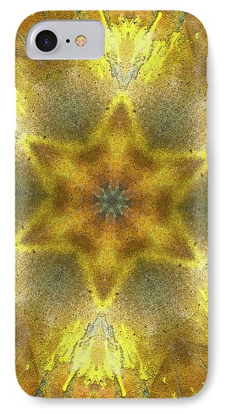 Star Kaleidoscope IPhone Case by Wim Lanclus