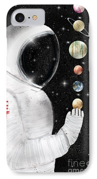 IPhone Case featuring the painting Star Man by Bri B