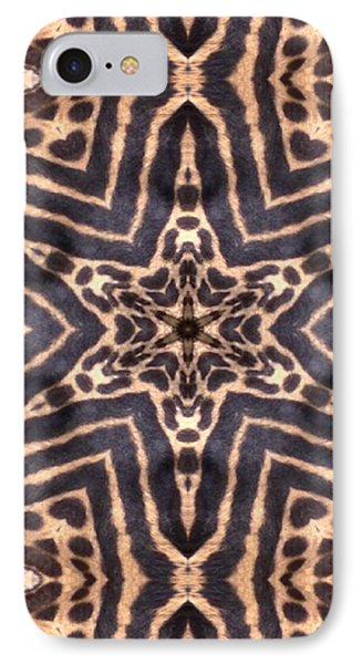 Star Of Cheetah Phone Case by Maria Watt