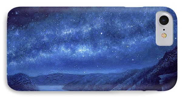 Star Path IPhone Case by Lucy West