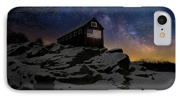IPhone 7 Case featuring the photograph Star Spangled Banner by Bill Wakeley