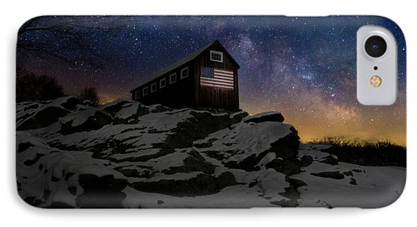 IPhone Case featuring the photograph Star Spangled Banner by Bill Wakeley