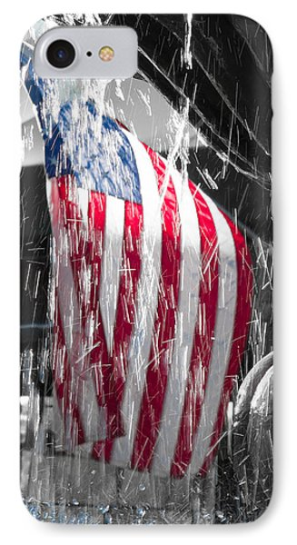 Star Spangled Splash  IPhone Case by Scott Campbell
