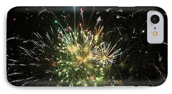 Star Spangling Fireworks IPhone Case