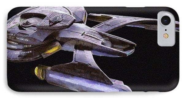 Star Trek Luna IPhone Case by Leonardo Digenio