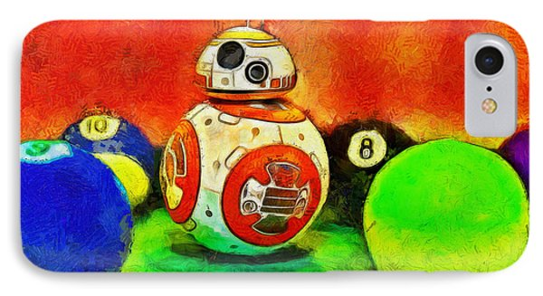 Star Wars Bb-8 And Friends - Pa IPhone Case