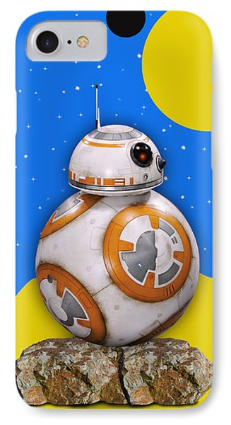 Star Wars Bb8 Collection IPhone Case by Marvin Blaine