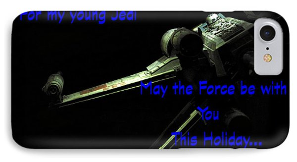 Star Wars Birthday Card 7 IPhone Case by Micah May
