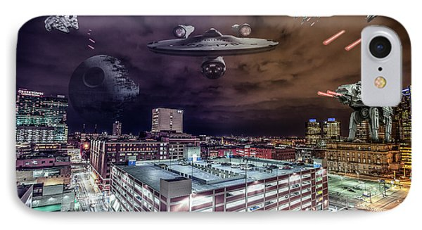 IPhone Case featuring the photograph Star Wars Detroit by Nicholas Grunas