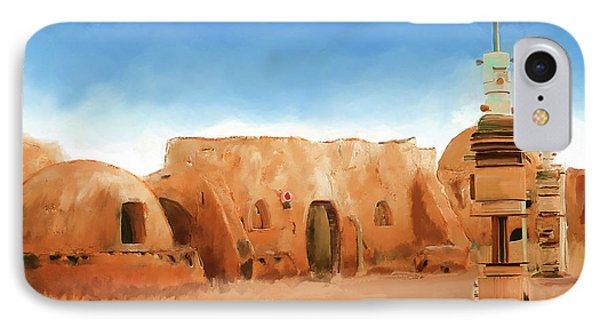 Star Wars Film Set Tatooine Tunisia IPhone Case