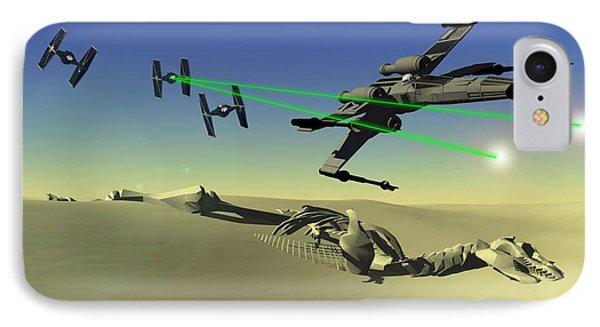 Star Wars Phone Case by Michael Greenaway
