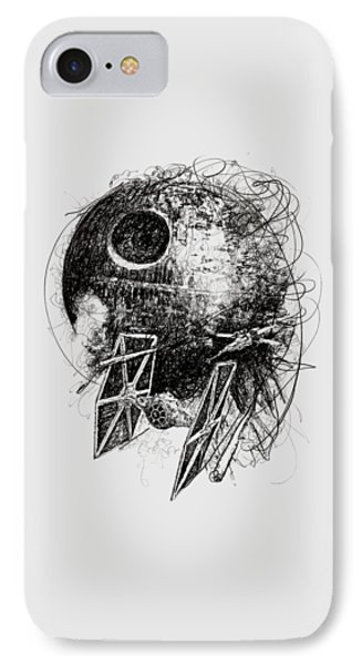 Star Wars IPhone Case by Michael Volpicelli