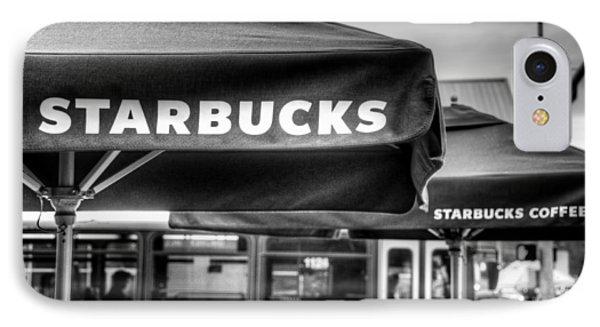 Starbucks Umbrella Phone Case by Spencer McDonald