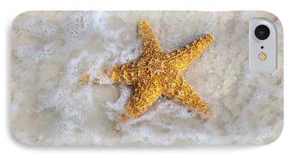Starfish Phone Case by Janet Fikar