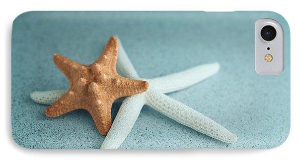 Starfish On Aqua IPhone Case by Tom Mc Nemar