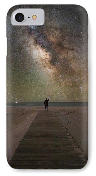 Stargazer IPhone Case by Michael Ver Sprill