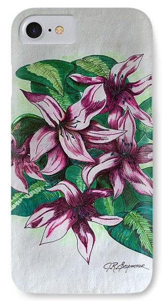 Stargazers Blooming IPhone Case by J R Seymour