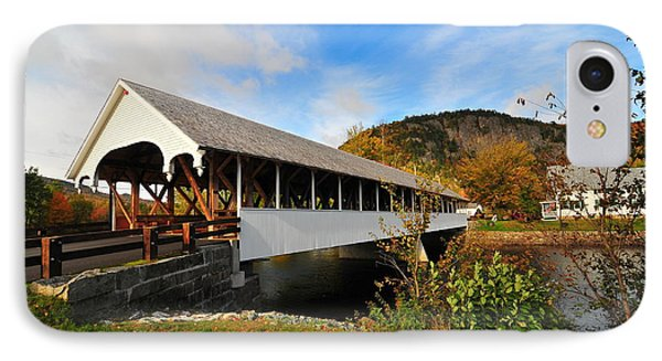 Stark Covered Bridge  IPhone Case by Catherine Reusch Daley
