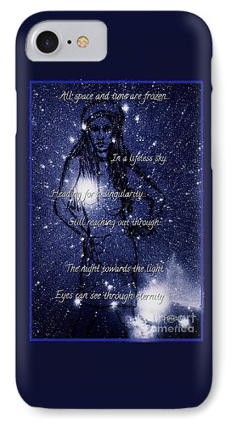 Starlight In Space And Time 5 IPhone Case