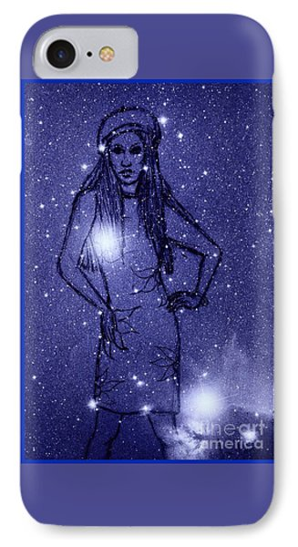 Starlight Of Space And Time 2 IPhone Case