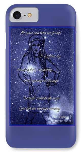 Starlight Of Space And Time 4 IPhone Case