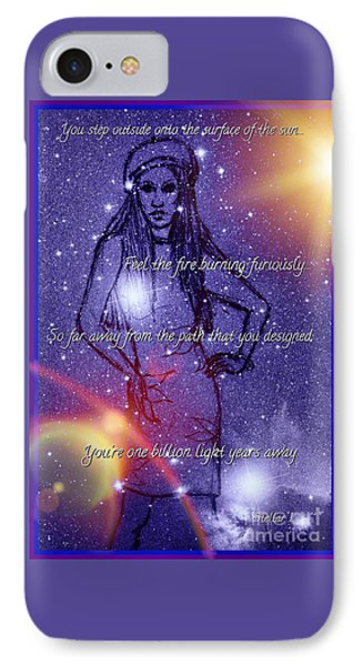 Starlight Of Space And Time Stellar1 IPhone Case