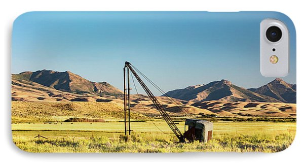 Starr Valley Crane IPhone Case by Todd Klassy