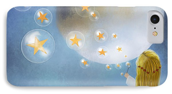 Starry Bubbles By Sannel Larson IPhone Case