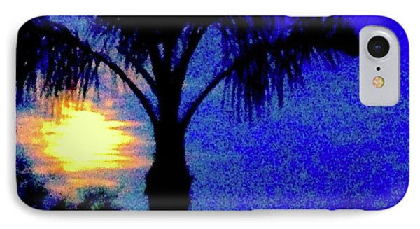 Starry Night At Casapaz Phone Case by Jack Eadon