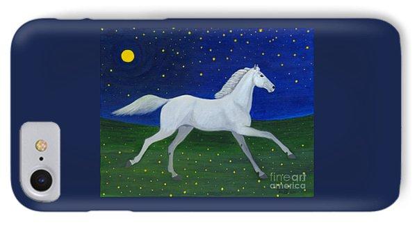 Starry Night In August Phone Case by Anna Folkartanna Maciejewska-Dyba