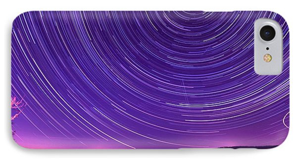 Starry Night Of Cayuga Lake IPhone Case by Paul Ge
