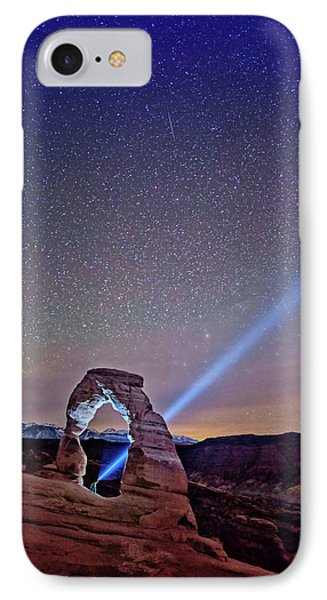 Starry Night Pointer IPhone Case
