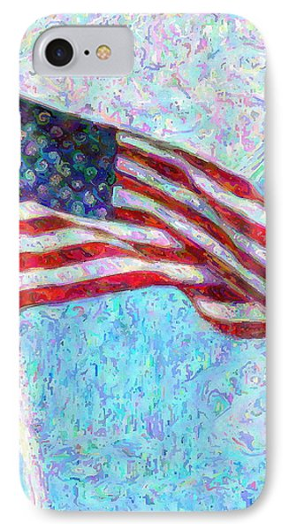 Stars And Stripes IPhone Case by Colleen Kammerer